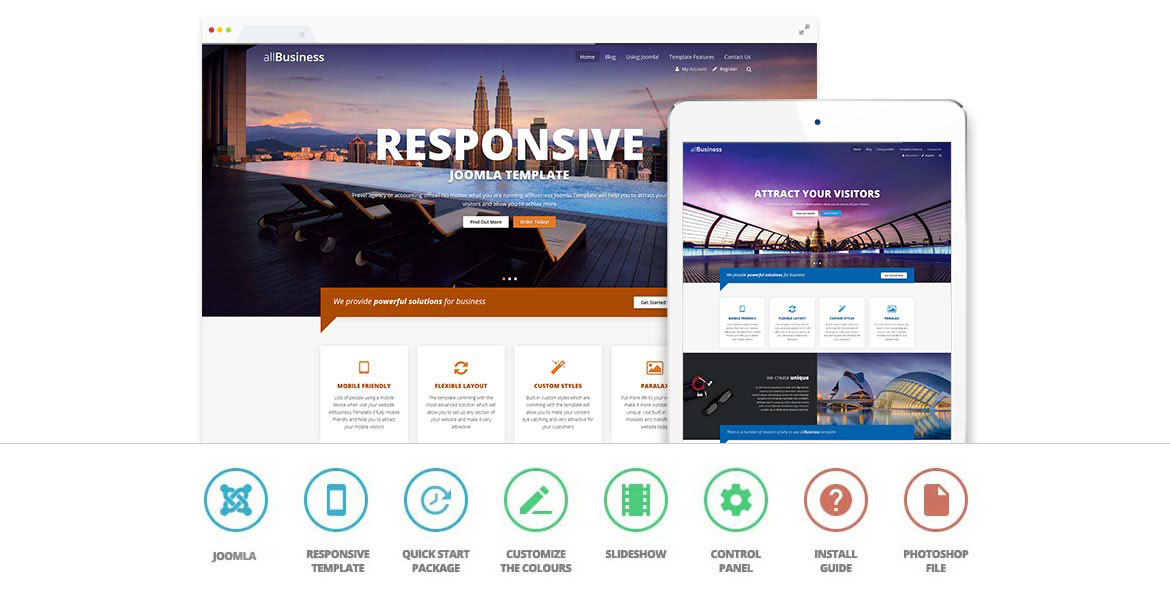All business joomla template cheaphphosting Images
