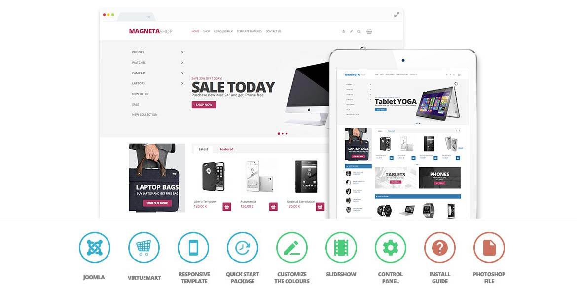 Create an awesome ecommerce website today with Light shop