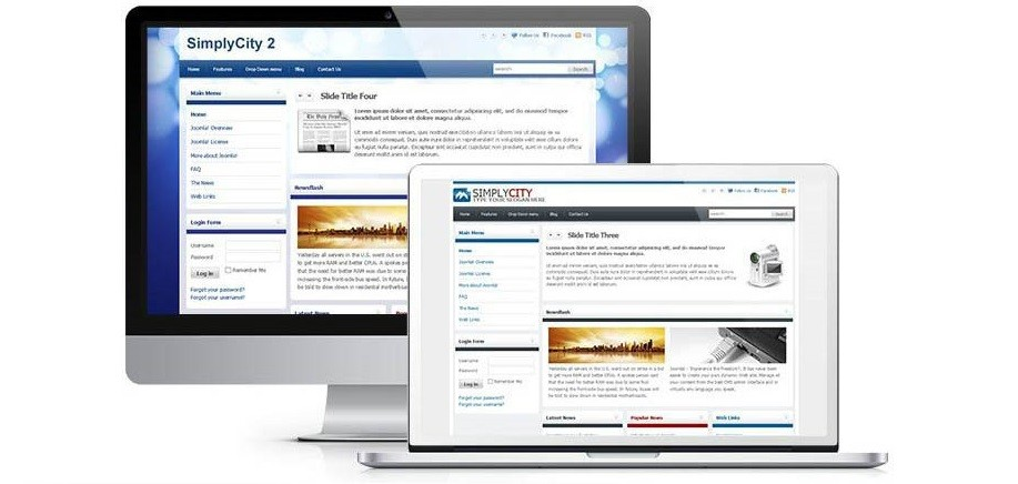 Simply city template for Joomla
