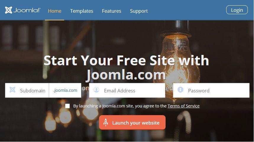 Choosing a free Joomla web hosting service