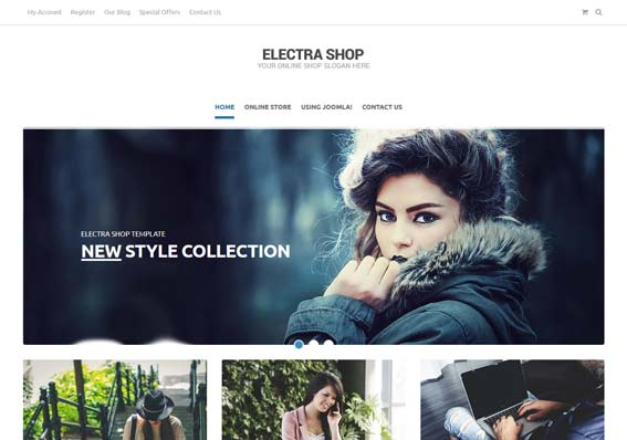 Download Electra shop for Virtuemart to build an amazing e-commerce website