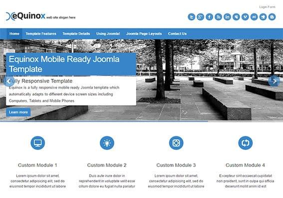 Mobile Friendly Responsive Joomla Templates